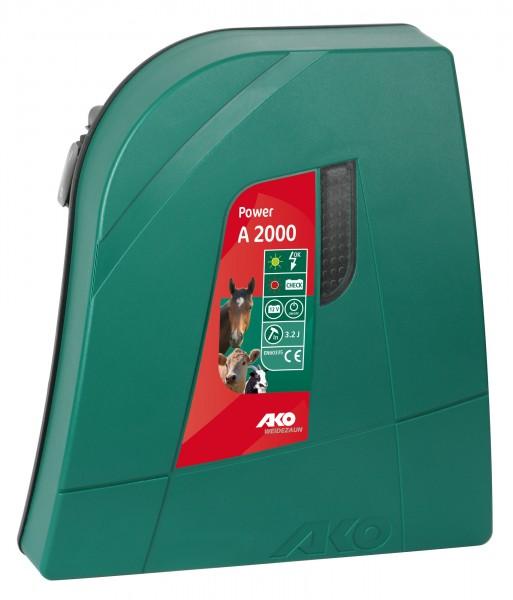 12 Volt Akkugerät Classic Power A 2000, für den mobilen Einsatz, ideal für Pferde- und Rinderzaun