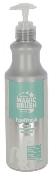 MagicBrush Kühlgel Equifresh ideal zur Kühlung und Erfrischung von müden Pferdebeine, 500 ml