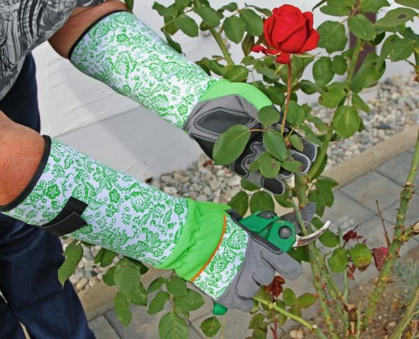 Handschuh aus weicher, dicker Mikrofaser mit verstärkter Handinnenflächen