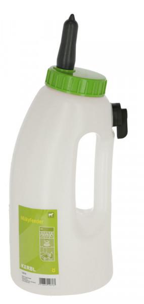 Kälberflasche MilkyFeeder mit 3-Stufen-Ventil zur Einstellung der Tränkegeschwindigkeit, 4 Liter Inhalt