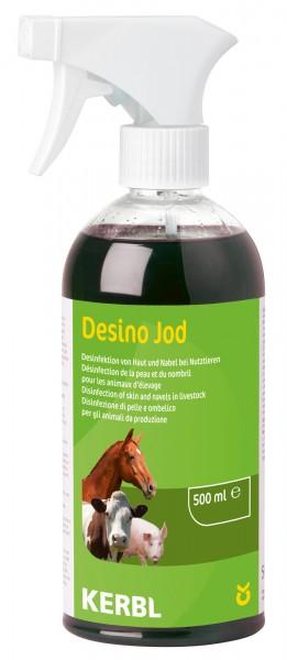 Desinfektionsspray jodhaltiges Haut- und Nabelspray für alle Tierarten