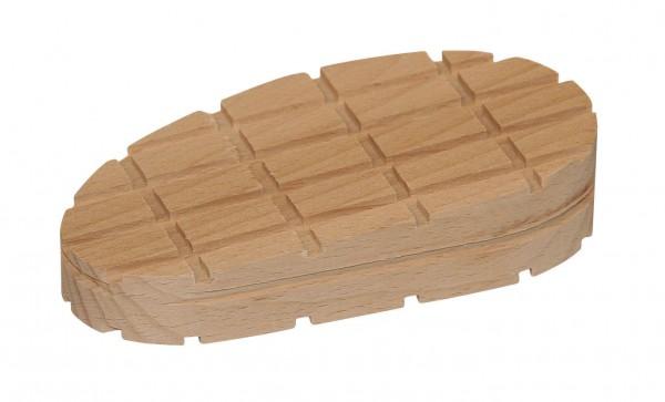 Holzklotz in Keilform für Rinderklauen, Größe M