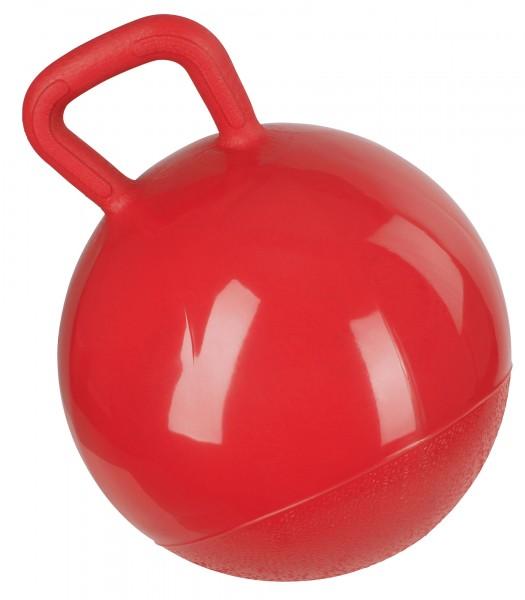 Extrem reißfestes, widerstandsfähiges und zugleich weiches Material für intensive Spielfreude, rot