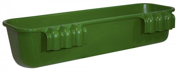 Langfuttertrog zum Einhängen aus glasfaserverstärktem Kunststoff, besonders stabil