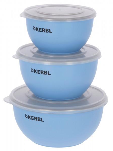 Edelstahlnapf Set bestehend aus 550 ml, 900 ml und 1200 ml Napf mit Deckel