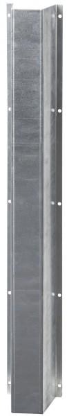 Verbissschutz für Rohrleitungen aus verzinktem Stahlblech