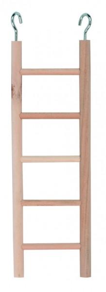 Holzleitern für Sittiche und kleine Vögel 3 Stück, 24 cm lang
