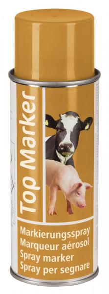 Markierungsspray TopMarker zur Viehkennzeichnung, orange
