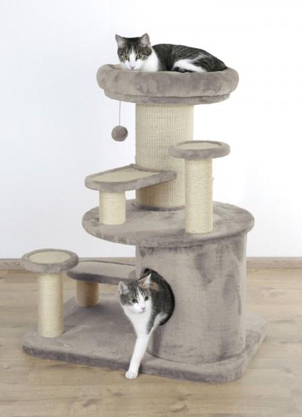 Kratzbaum Oldie besonders geeignet für ältere, kranke, übergewichtige Katzen