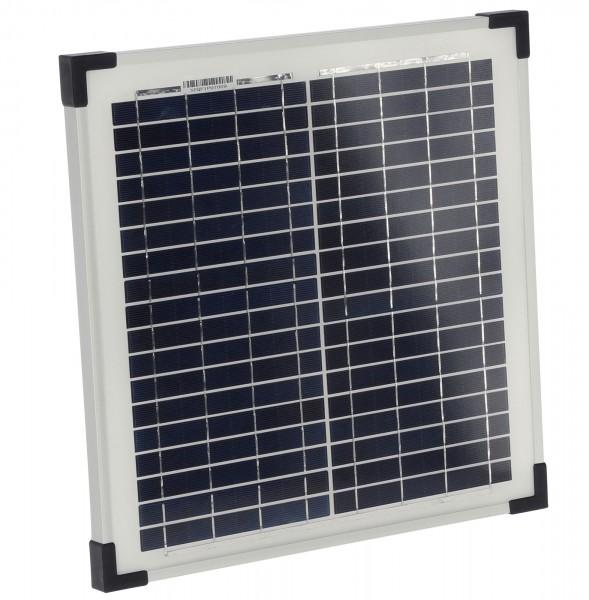 Solarmodul passend für Duo-Weisezaungeräte, 15 Watt Solarpanel