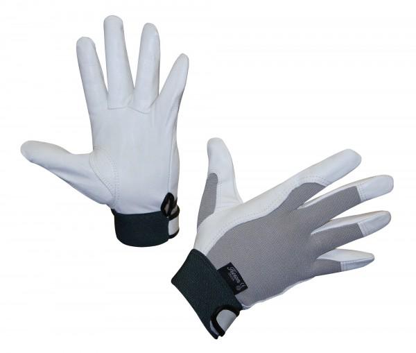 Handschuh Okuda, geschmeidiger Lederhandschuh aus weichem, abriebfestem Rind-Nappaleder