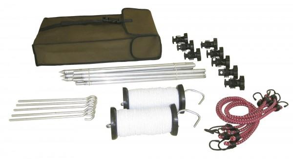 Hobby- und Wanderreiterset mit praktischer Packtasche, Gewicht insg. ca. 3 kg
