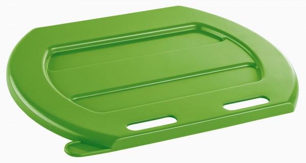 passender Deckel für Kälbertränkeeimer aus Kunststoff in grün