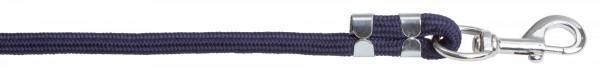 Führstrick Dexter farblich passend zu Halfter Dexter, Farbe blau mit Karabinerhaken