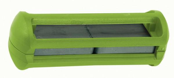 Käfigmagnet grün zur Prophylaxe der Fremdkörpererkrankung