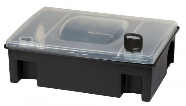 Köderstation Tom robuste Kunststoff-Köderstation für Ratten, mit Schlüssel zum Schutz für Kinder und Haustiere