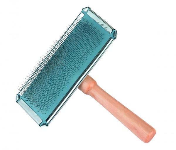 Softzupfbürste mit Holzgriff 13,5 cm lang, 12 cm breit, 3 Stück