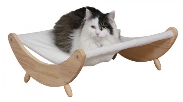 Hängematte Dream für große Katzen, Katzenschlafplatz aus weichem Plüsch