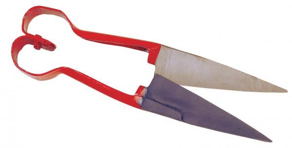 Schafschere in Herzform, Schere mit Qualitätsschliff auch für Rasenkanten geeignet