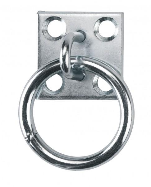 Verzinkter Anbindering zum Anschrauben an die Boxen-oder Stallwand