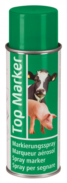 Markierungsspray TopMarker für Rinder, Ziegen, Schweine, Farbe grün