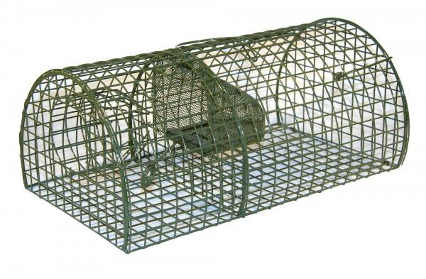 Ratten-Massenfänger Alive Metallfalle mit 2 Fangkammern zum gleichzeitigen Fangen mehrerer Tiere